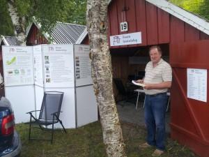 Fosen historielags stand på Kystkulturdagan 2016.