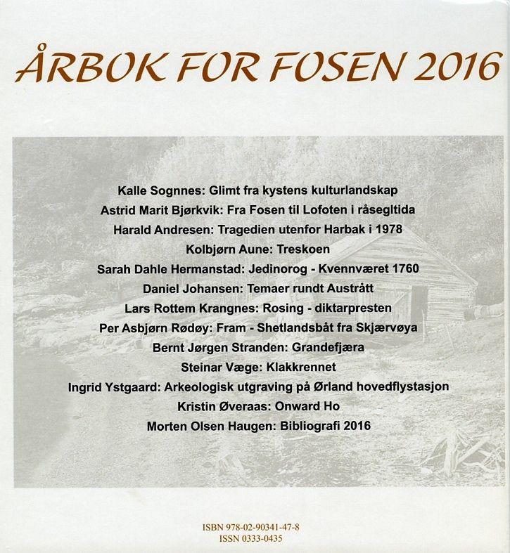 Årbok 2016 bakside